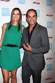 LOS ANGELES - OCT 26:  Ana Alexander, Navid Negahban arrives at the 41st Annual Peace Over Violence