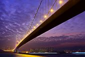 pic of tsing ma bridge  - Tsing Ma bridge - JPG