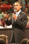 Barack Obama Gesture