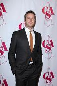 LOS ANGELES - OCT 29:  Armie Hammer arrives at the Casting Society of America Artios Awards at Bever