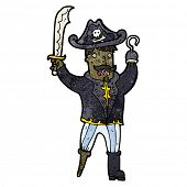 pirate captain cartoon