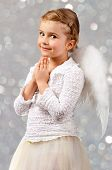 foto of little angel  - Christmas Angel  - JPG