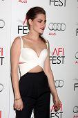 LOS ANGELES - NOV 3:  Kristen Stewart arrives at the AFI Film Festival 2012