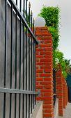 Bricks Fence