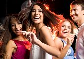 Постер, плакат: Танцы друзей