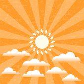 Summer Sunny Sky