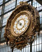 The Clock At Musee D'orsay