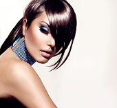 foto of woman glamorous  - Fashion Beauty Girl - JPG