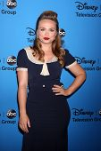 LOS ANGELES - AUG 4:  Amanda Fuller arrives at the ABC Summer 2013 TCA Party at the Beverly Hilton H