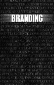 Branding in Business as Motivation in Stone Wall poster