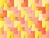 Wedged Squares Background