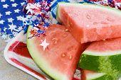 Picnic Watermelon Horiz