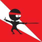 Ninja With A Sword