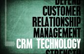 CRM Technology Core Principles as a Concept