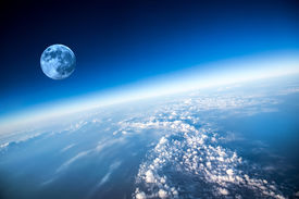 pic of ozone layer  - Photo Planet Earth aerial view - JPG