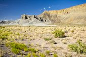 Panorama Of Capitol Reef National Park, Usa