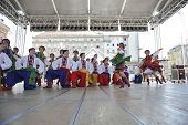 ZAGREB, CROATIA - JULY 17: Members of folk group Edmonton (Alberta), Ukrainian dancers Viter from Ca