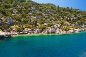 Sunken Lycian City On The Kekova Island