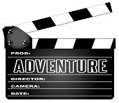 Adventure Movie Clapperboard
