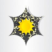 Star In Universe Stars Sun Sunlight Abstract Design