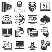 server and network icons