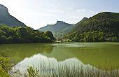 Hills And Lake