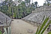 Football field of the Mayas