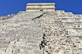 Close ups of the main Ziggurat