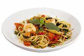 Spaghetti Sauce Drunken Shrimp 1