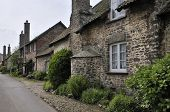 Old Cottages In Bossington