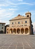 Town Hall In Montefalco, Umbria, Italy