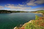 Mouth Of The Erme Estuary South Hams Devon