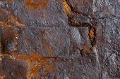 Rough iron ore texture