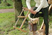 Wood Saw.