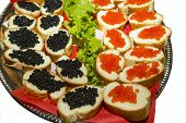Appetizer With Caviar