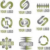 Modern Business Logo Icons