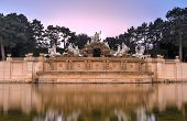 Neptune Fountain Of Schonbrunn Palace - Vienna, Austria