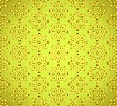 Gold Sweet Fireworks And Circle Pattern On Pastel Background