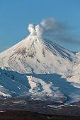 Avachinsky Volcano - Active Volcano Of Kamchatka