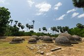 stock photo of tamil  - Kathurogoda Ancient Vihara Jaffna district Sri Lanka - JPG
