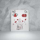 Chemical Elements H2O And O2