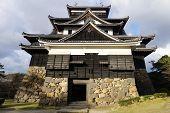 A View Of  Matsue Castle In Matsue