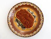 Slice Of Bread With Chutney
