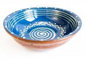Traditional Bulgarian Painted Ceramic Dish