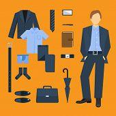 Business Man Clothes Set
