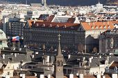 The View Of The Prague Roofs