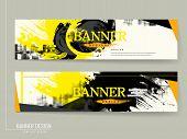 Stylish Banner Template Design