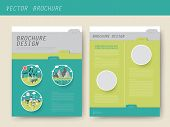Ecology Concept Brochure Template