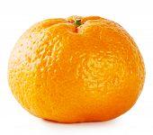 Orange ripe juicy tangerine
