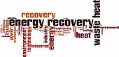 Energy Recovery Word Cloud